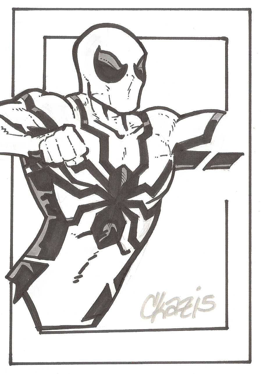 Spider Man Future Foundation By Cmkasmar On Deviantart Big Time Coloring Pages