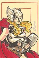 Thor (Jane Foster) by cmkasmar