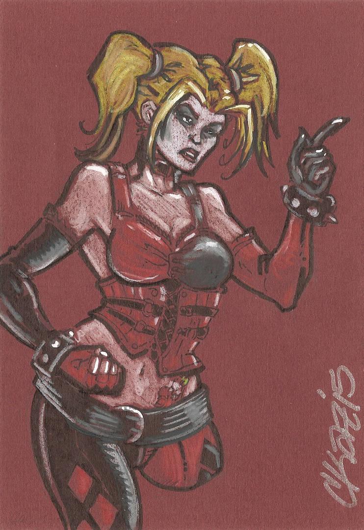 Harley Quinn Arkham Knight by cmkasmar