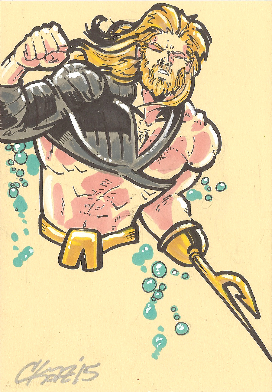 Aquaman 90s by cmkasmar