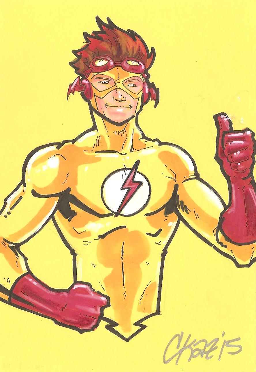 Kid Flash 2 by cmkasmar