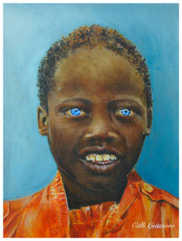 Boy with the Blue Eyes