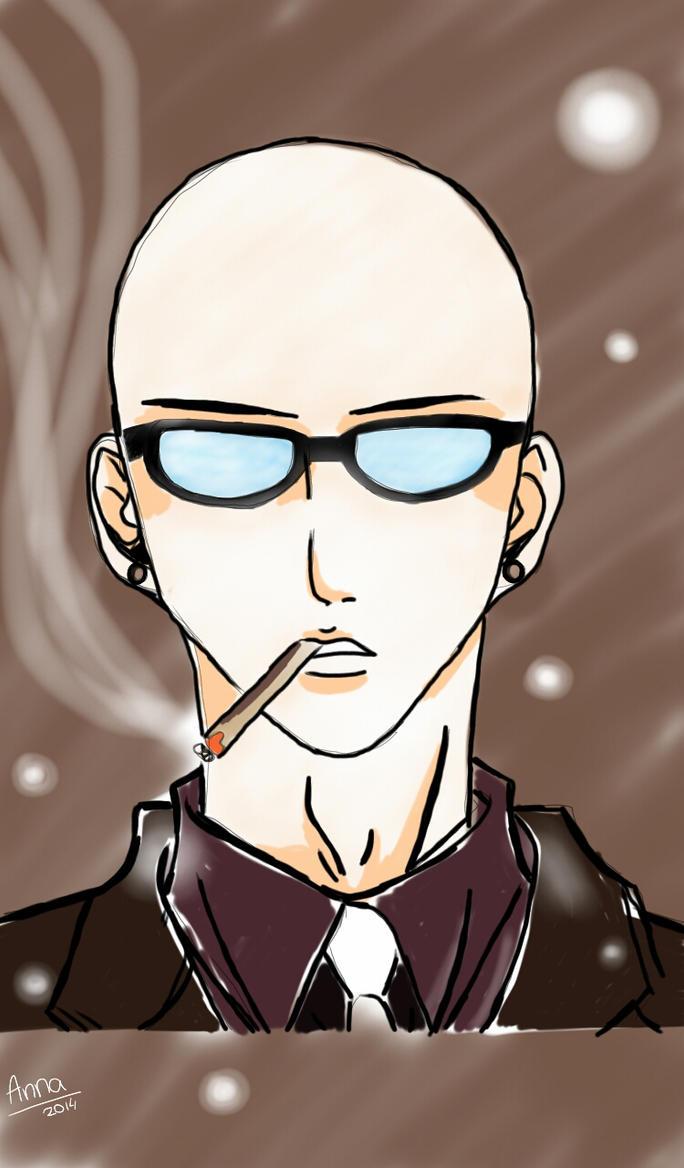 Bald Anime Guy