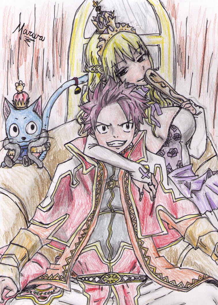 Natsu and Lucy by 52mew on DeviantArt