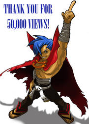 50,000 Thank Yous