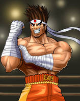 Yoshaaa. It's Joe Higashi by The-Switcher
