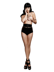 Katy Perry - Topless Esquire Cover Vector/PNG by Dubstepmau5