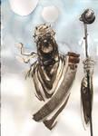 Tusken Raider Watercolor