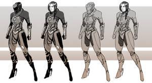 ExoSkeleton Armor concept