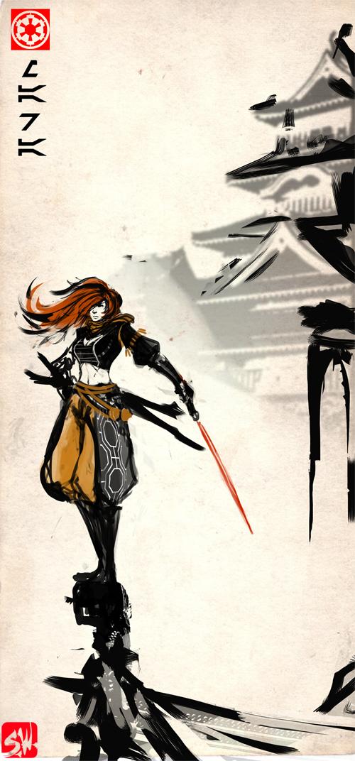 Sith Bushido: Mara Jade by ManBean