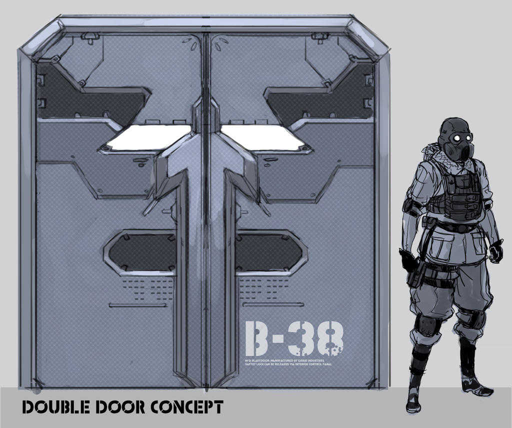 Double door concept by skizzleboots on deviantart - Several artistic concepts for main door ...