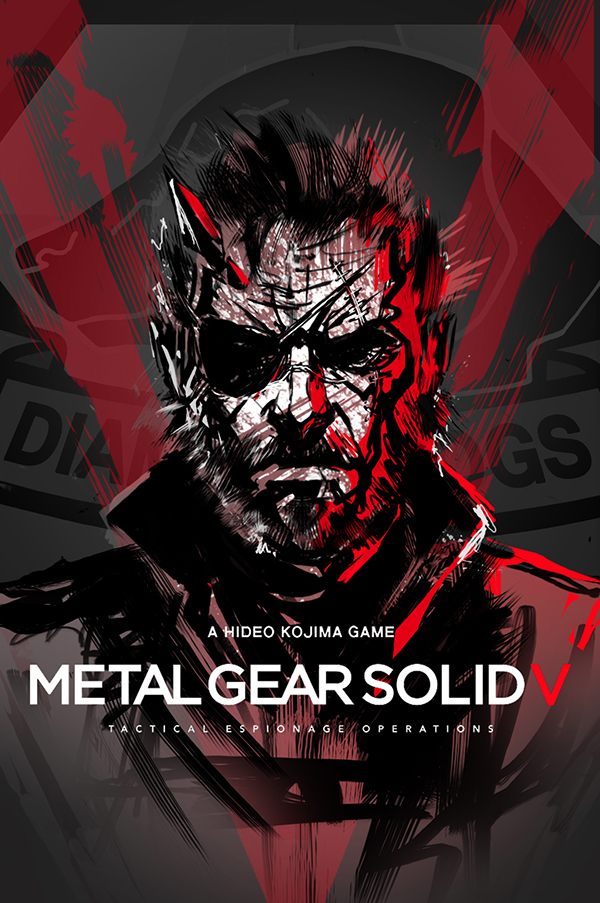 mgsv poster by skizzleboots on deviantart