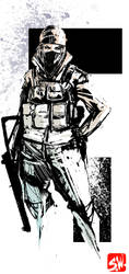 Rainbow 6 Siege Frost by SkizzleBoots