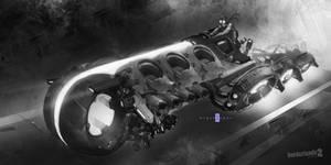 MIGZCARZ 'Mig-31b Lightcycle'