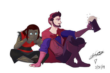 Ravi and Jack (CREDIT TO SNUFFYSBOX ON TUMBLR) by isaisapeeka
