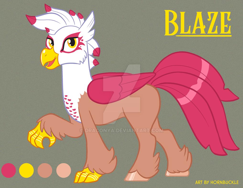 Updated Blaze by Draconya