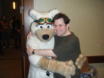 Bear hugs by Draconya