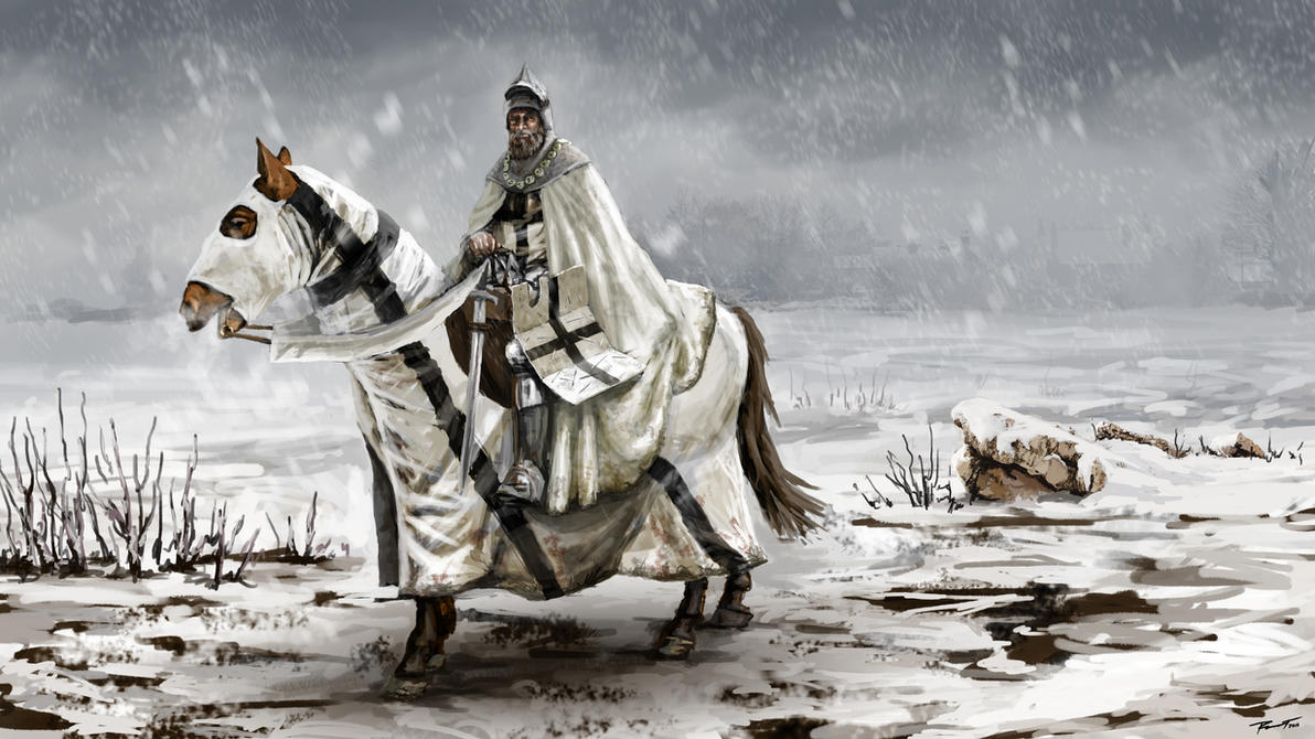 Knight of the Teutonic Order by KardisArt