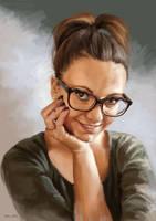 Portrait study by KardisArt