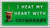 I heat my heart with chimarrao by humanofprey