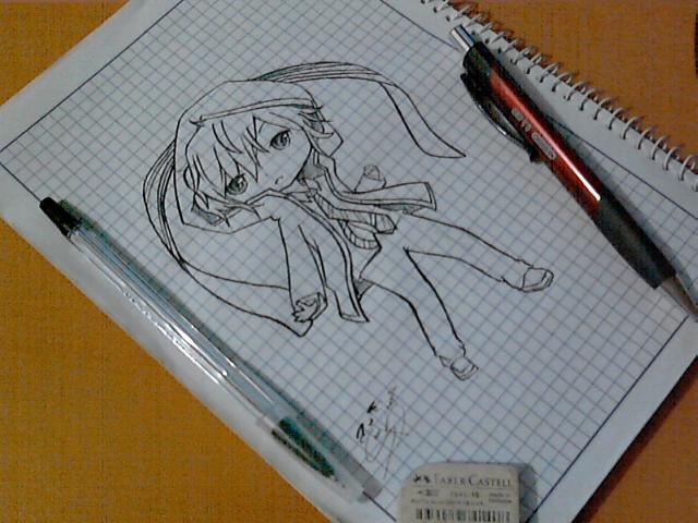 .:DS2:. chibi hibiki by NekoAllen-chan