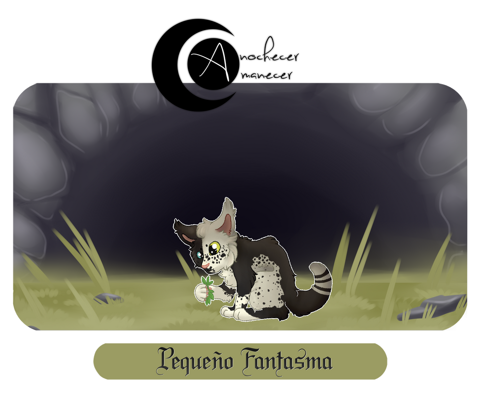AYA|Pequenio Fantasma|Cachorro [Try Out] by 0-COCKER-0