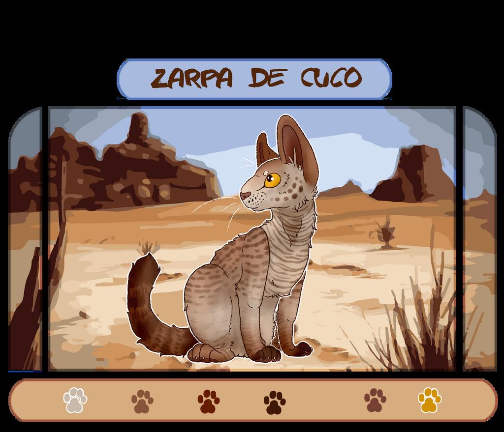 Zarpa de Cuco by 0-COCKER-0