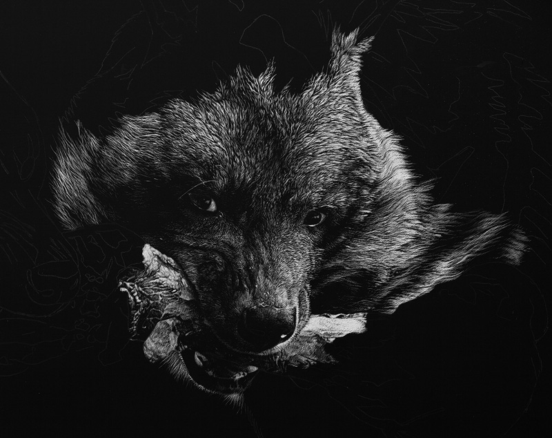 Striped Hyenas - WIP by CristinaPenescu