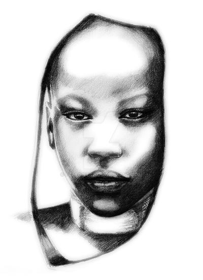 African beauty by Faffinette