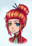 Fuko Burnett [Contest entry] by PhoenixFlameArt