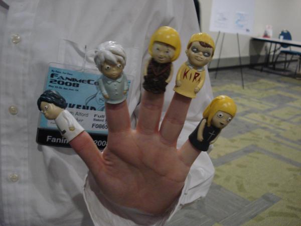 near finger puppets fanime08 by otakuukato on deviantart