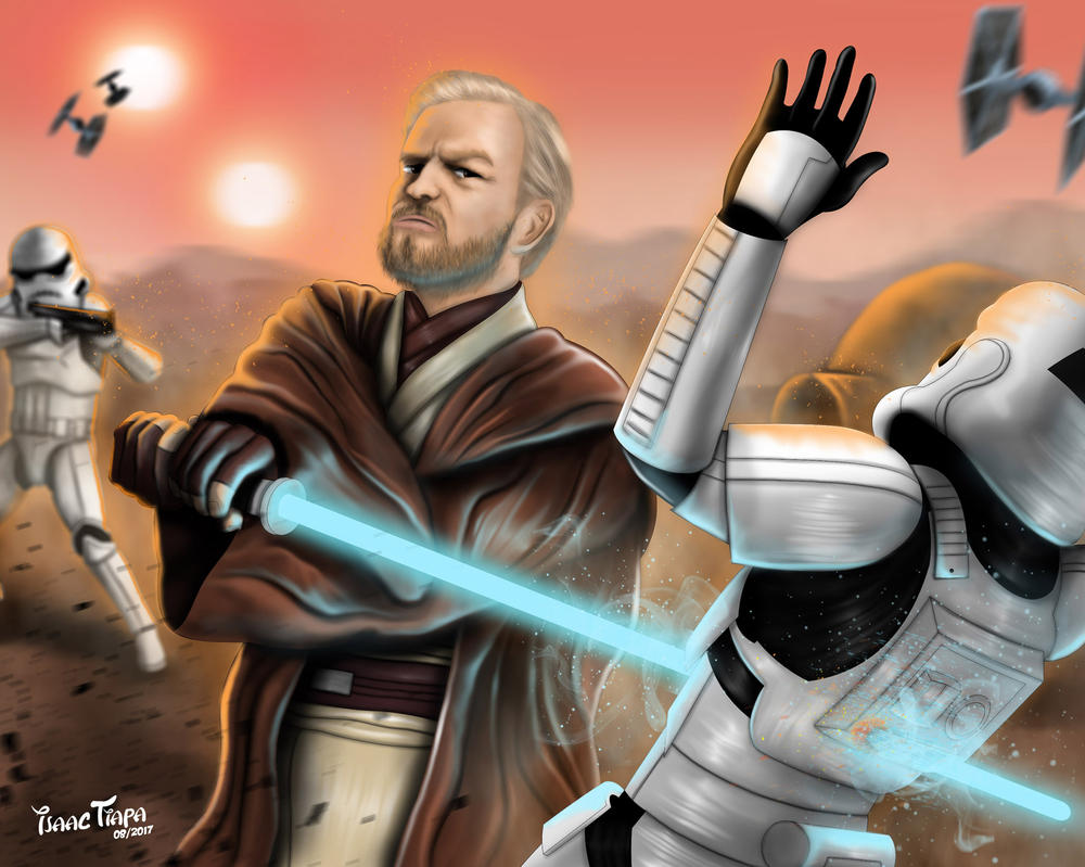 Ben Kenobi by isaactiapa