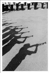 trumpeters by shinsenfreak
