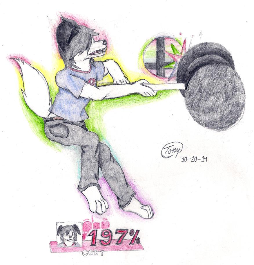 Super Smash Cody by Tony-Akita