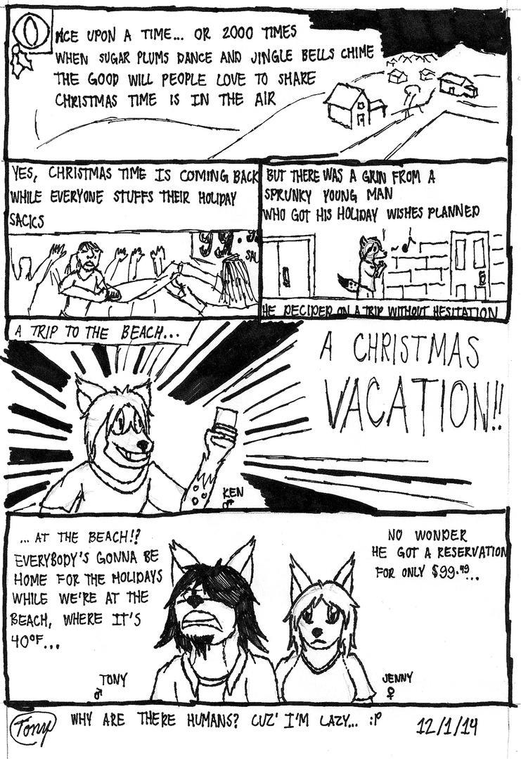 Happy Holidays! Pt.1 The Reservation by Tony-Akita