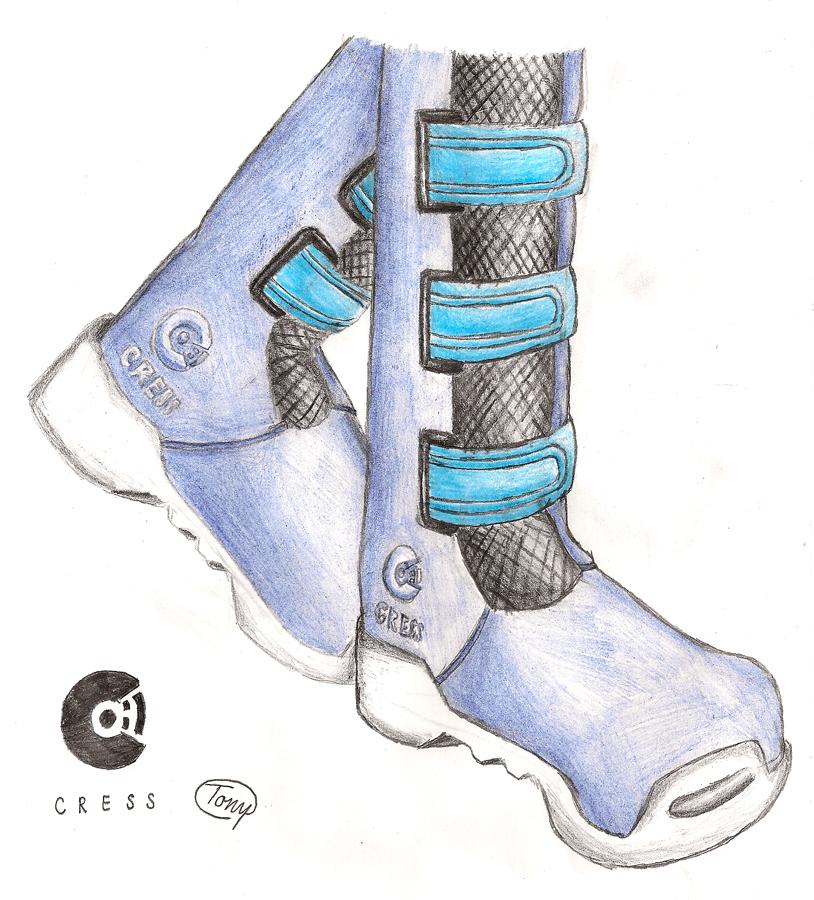 Jenny's Boots (Detail) by Tony-Akita