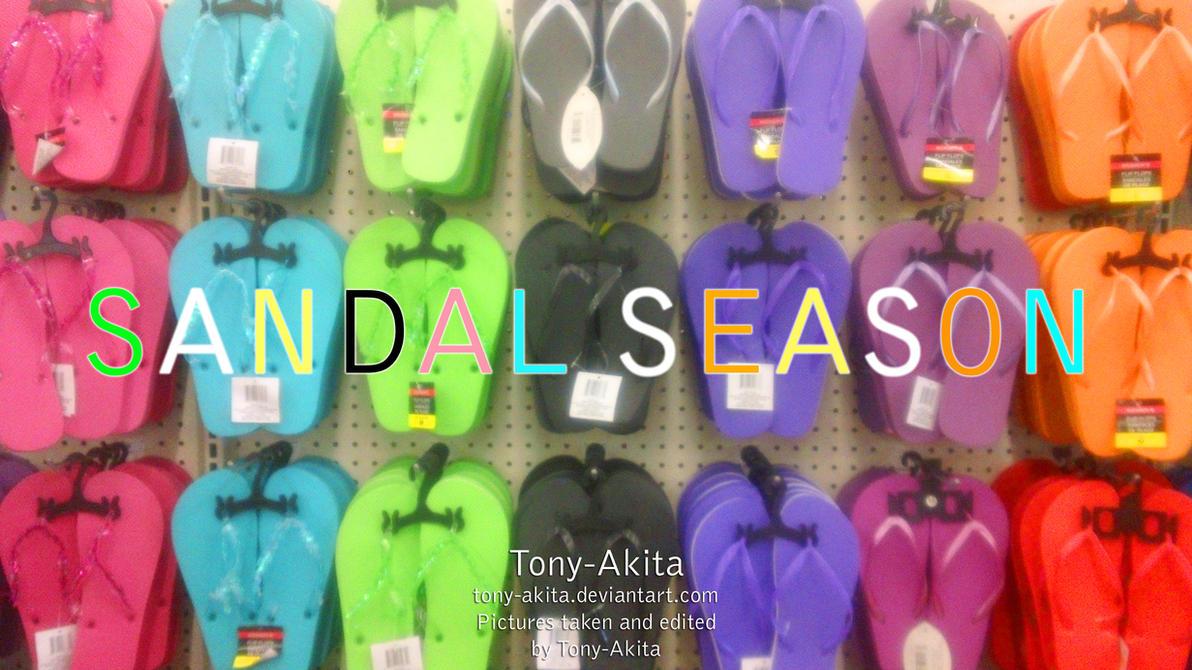 Sandal Season by Tony-Akita