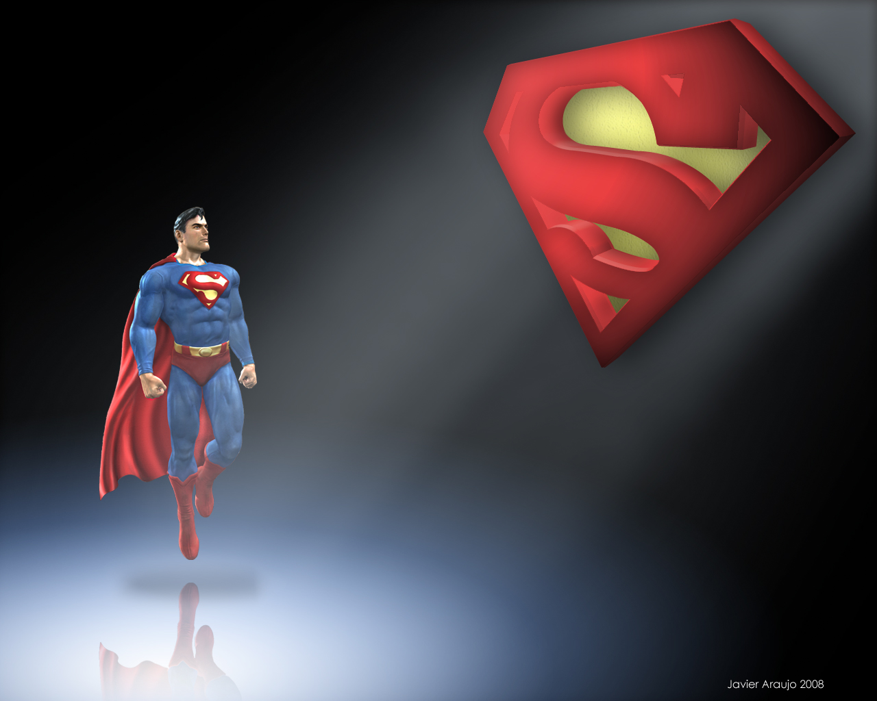 superman wallpaperantikop on deviantart