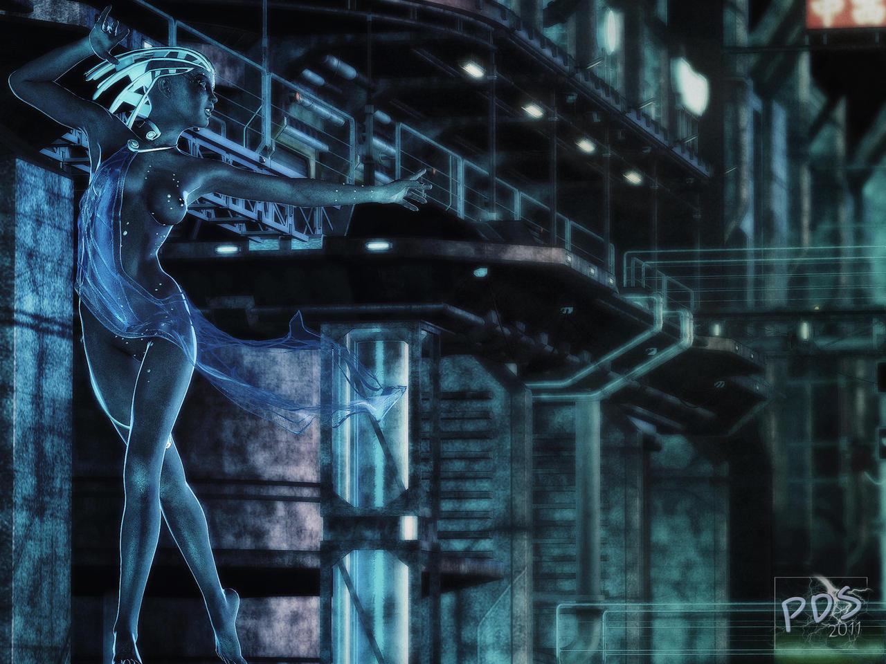 Sci-Fi Fantasy girls on Affect3d-3DX - DeviantArt