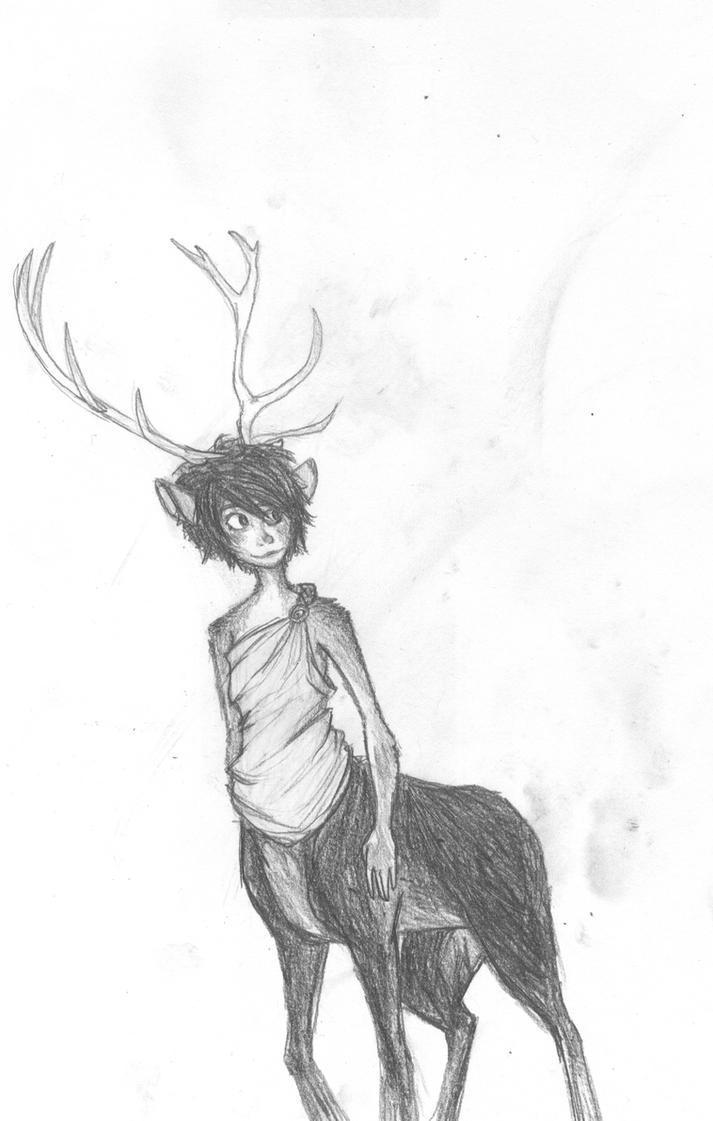Half Human Half Deer by zivazivc21 on DeviantArt