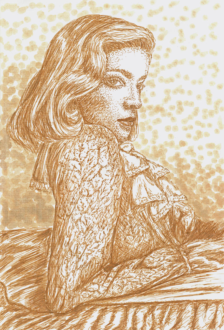 Lauren Bacall by KamilaM94