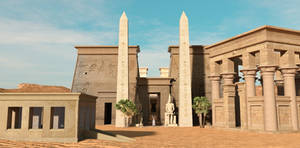 Egyptian Capriccio by dazinbane