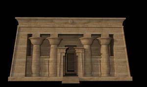Egyptian Shrine Temple