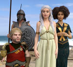 Daenerys, Tyrion etc.