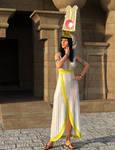 Nefertari in Vulture Crown