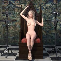 Venus On Throne by dazinbane
