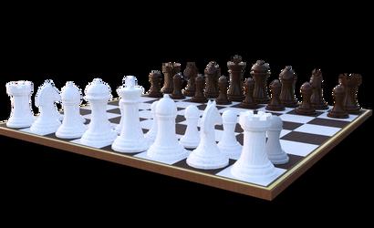 Chess Set by dazinbane