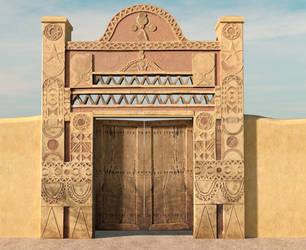 Nubian Gate by dazinbane