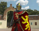 Red Knight In The Ring