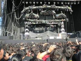 Iron Maiden stage by shakti-anishka